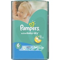 Pampers Active Baby-Dry 15+ кг (16)