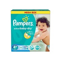 Pampers Active Baby-Dry 9-16 кг (120)