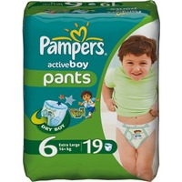 Pampers Active Boy 16+ кг (19)