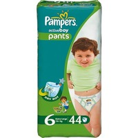 Pampers Active Boy 16+ кг (44)