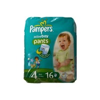Pampers Active Boy 9-14 кг (16)