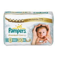 Pampers Premium Care Newborn 0-2.5 кг (30)