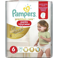 Pampers Premium Care Pants 16+ кг (19)